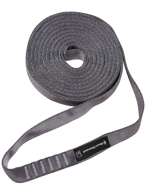 Black Diamond Nylon - 18 mm 240 cm gris
